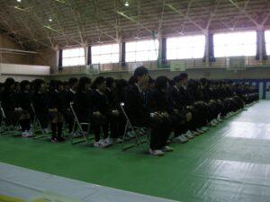 入学式直後から音楽室