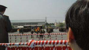 青野ヶ原駐屯地36周年記念式典
