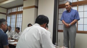 森林・林業関係職員との懇談会