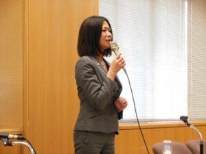島田妙子さんの壮絶な講演