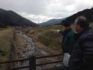 前山地区河川調査