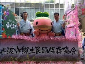 今年の神戸まつりパレードは猛暑