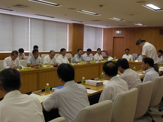 教育委員会と自民党執行部との意見交換会