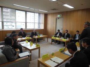 平成27年度予算に向けての与党連絡会