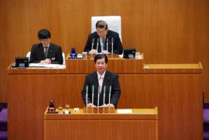 2月定例県議会代表質問