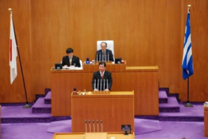 通算13回目の本会議質問2月20日登壇