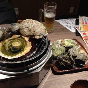 美食第17弾、西播磨の焼き牡蠣