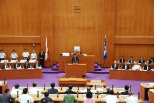 第328回定例県議会開会