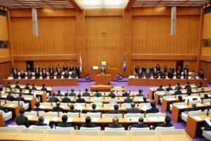平成27年度12月県議会閉会