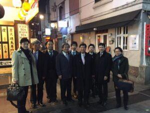 誠の会(自民党一年生議員)との懇談会