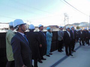 林業議連高知県調査その3 バイオマス発電設備を調査