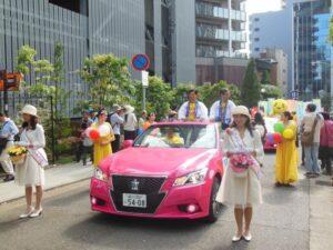 平成28年度神戸まつりパレードスタート