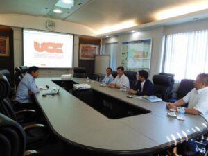 UCC(ユナイテッドコイルセンター)バンコク工場を視察
