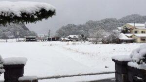 丹波は22年振りの豪雪