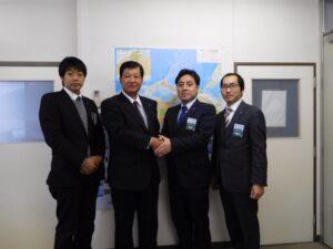 丹波JC木村新理事長の訪問