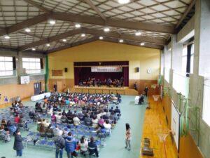 西脇市立芳田幼稚園でマンドリン演奏