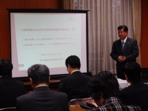 熊本県地震の復旧復興状況を視察