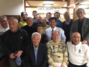 宮野憲三大先輩喜寿の祝い
