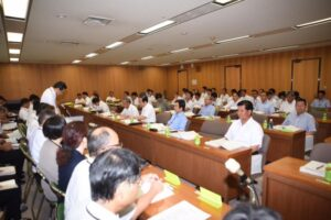 平成29年度夏の政調会