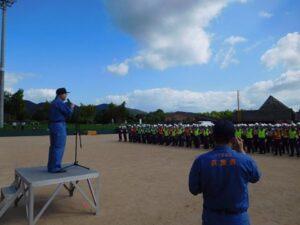 平成29年度兵庫県総合防災訓練IN丹波地域