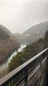 神戸石井ダムを視察