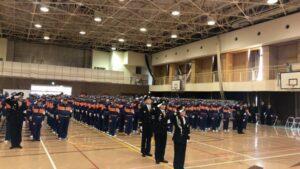 丹波市消防団平成最後の初出式