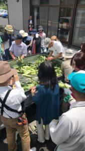 大路の夏野菜を食する会