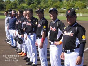 兵庫県議会野球部親善試合