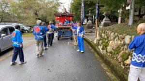 中山自治会秋祭り