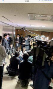 兵庫県知事選挙に向けての記者会見
